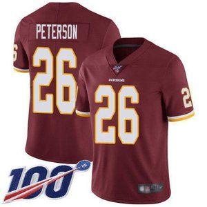 Redskins Adrian Peterson 100th Season Jersey